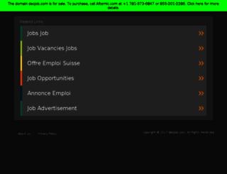 ch.deojob.com screenshot