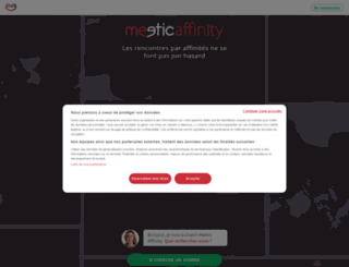 ch.meeticaffinity.fr screenshot