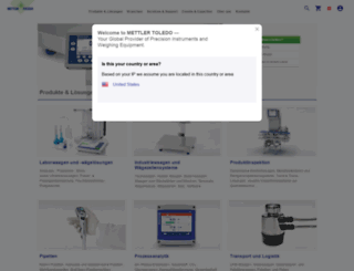 ch.mt.com screenshot