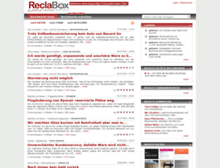 ch.reclabox.com screenshot