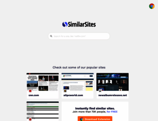 ch.similarsites.com screenshot