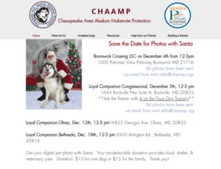 chaamp.org screenshot