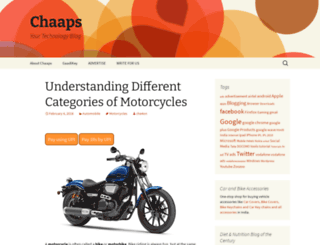 chaaps.com screenshot