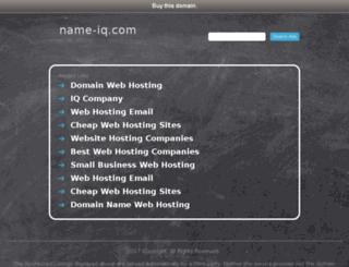 chaatiraq.name-iq.com screenshot