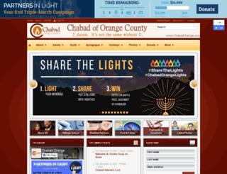 chabadorange.com screenshot