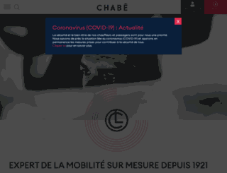 chabe-limousines.com screenshot