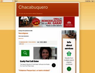 chacabuquero.com.ar screenshot