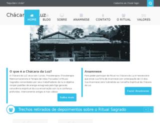 chacaradaluz.com.br screenshot