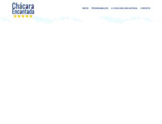 chacaraencantada.com.br screenshot