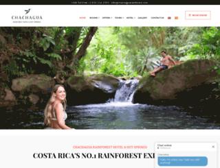 chachaguarainforesthotel.com screenshot