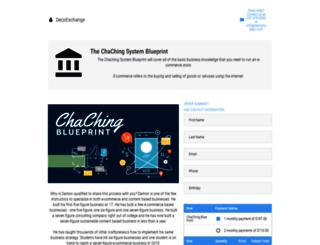 chachingblueprint.com screenshot