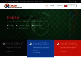chachuinpakistan.com screenshot