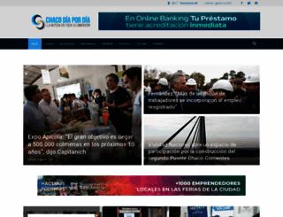 chacodiapordia.com screenshot