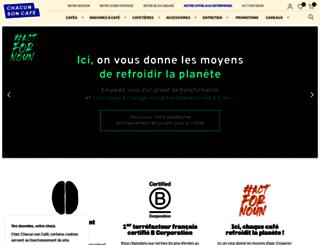 chacunsoncafe.fr screenshot