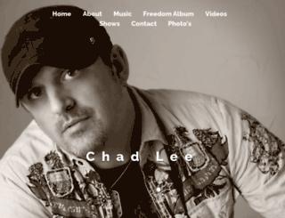 chadleeband.com screenshot