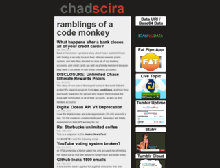 chadscira.com screenshot