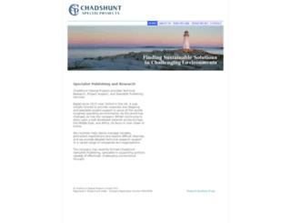 chadshunt.com screenshot