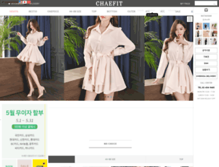 chaefit.com screenshot