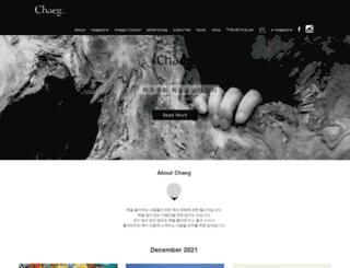 chaeg.co.kr screenshot