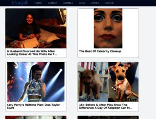 chagall.inspireworthy.com screenshot