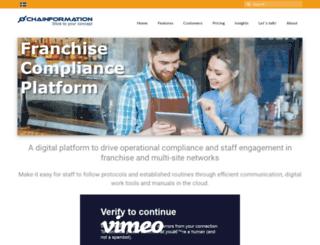 chainformation.com screenshot