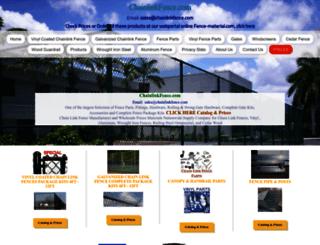 chainlinkfence.com screenshot