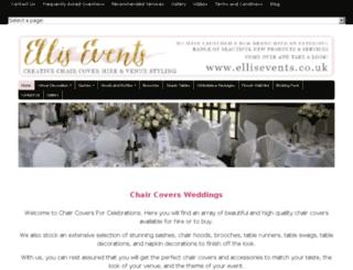 chaircoversforcelebrations.com screenshot