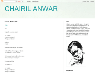 chairil-anwar.blogspot.com screenshot