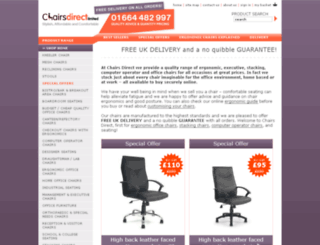 chairs-direct.co.uk screenshot