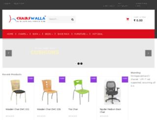 chairswalla.com screenshot