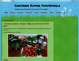 chaitanyakumarv.blogspot.in screenshot