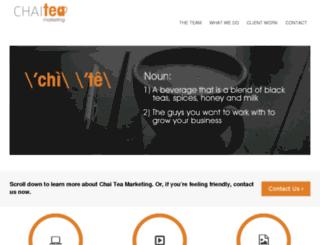 chaiteamarketing.com screenshot