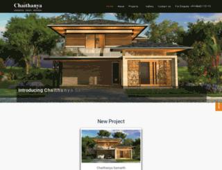 chaithanya.com screenshot