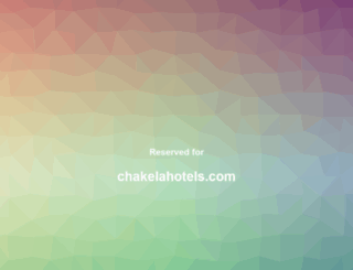 chakelahotels.com screenshot