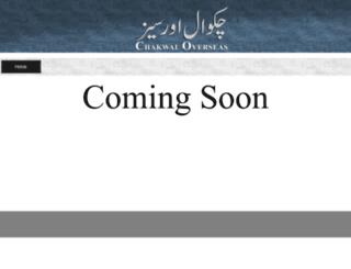 chakwaloverseas.com screenshot