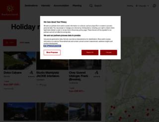 chalet.myswitzerland.com screenshot