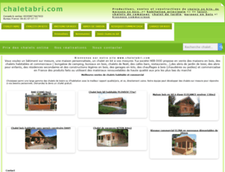 chaletabri.com screenshot