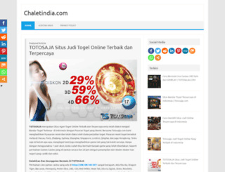 chaletindia.com screenshot