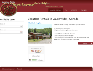 chalets-rentals.com screenshot