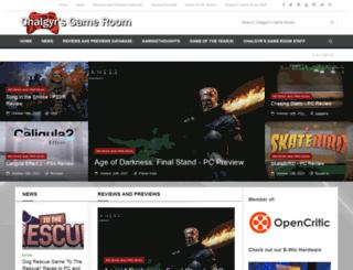 chalgyrsgameroom.blogspot.com screenshot