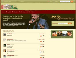 chalino.com screenshot