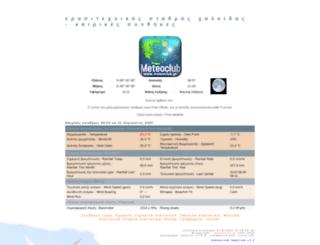 chalkida.meteoclub.gr screenshot
