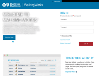 challenge.walkingworks.com screenshot