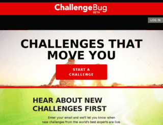 challengebug.com screenshot