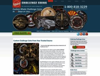 challengecoinsltd.com screenshot