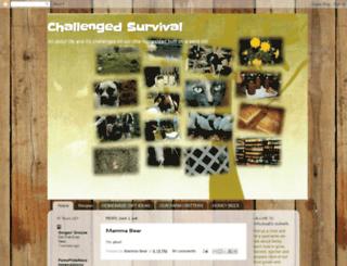challengedsurvival.blogspot.com screenshot
