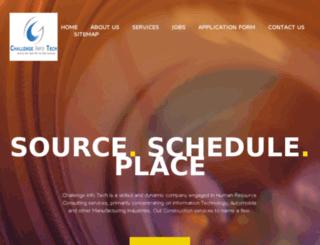 challengeinfotech.com screenshot
