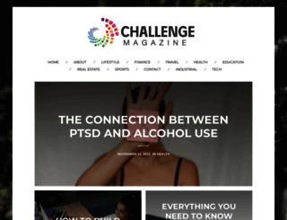 challengemagazine.com screenshot
