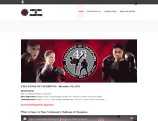 challengeofchampions.com screenshot