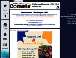 challengerpta.ourschoolpages.com screenshot